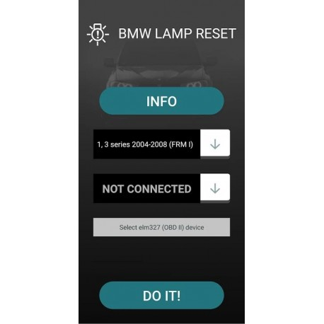 BMW short circuit reset- android app